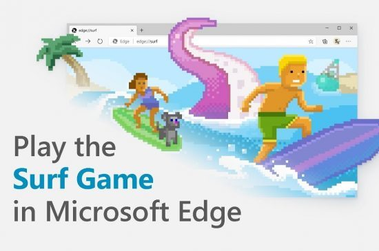 Easter Egg: verborgen game in Microsoft Edge