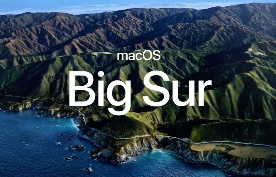 macOS Big Sur MacBook