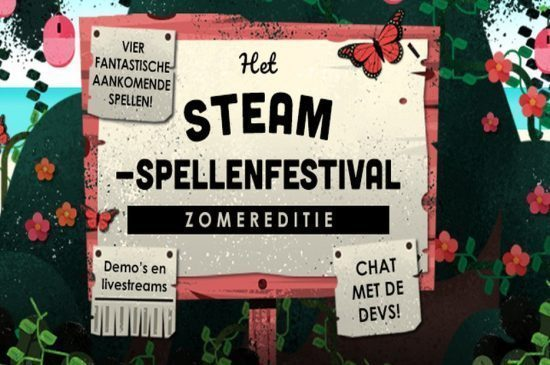 Steam spellenfestival