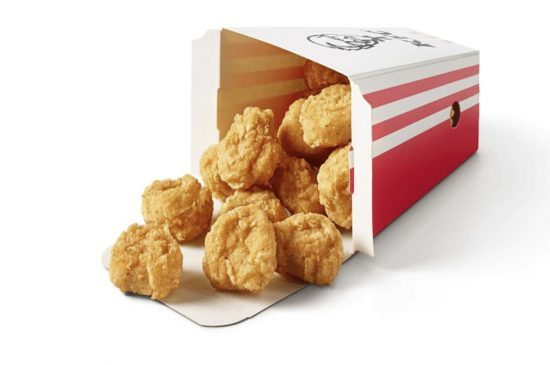 KFC kipnuggets Popcorn chicken