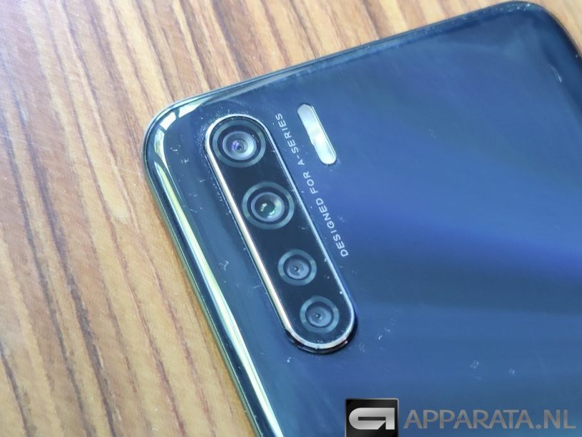 OPPO A91 review camera