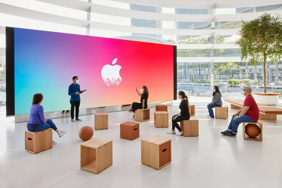 Workshops in de Apple Store