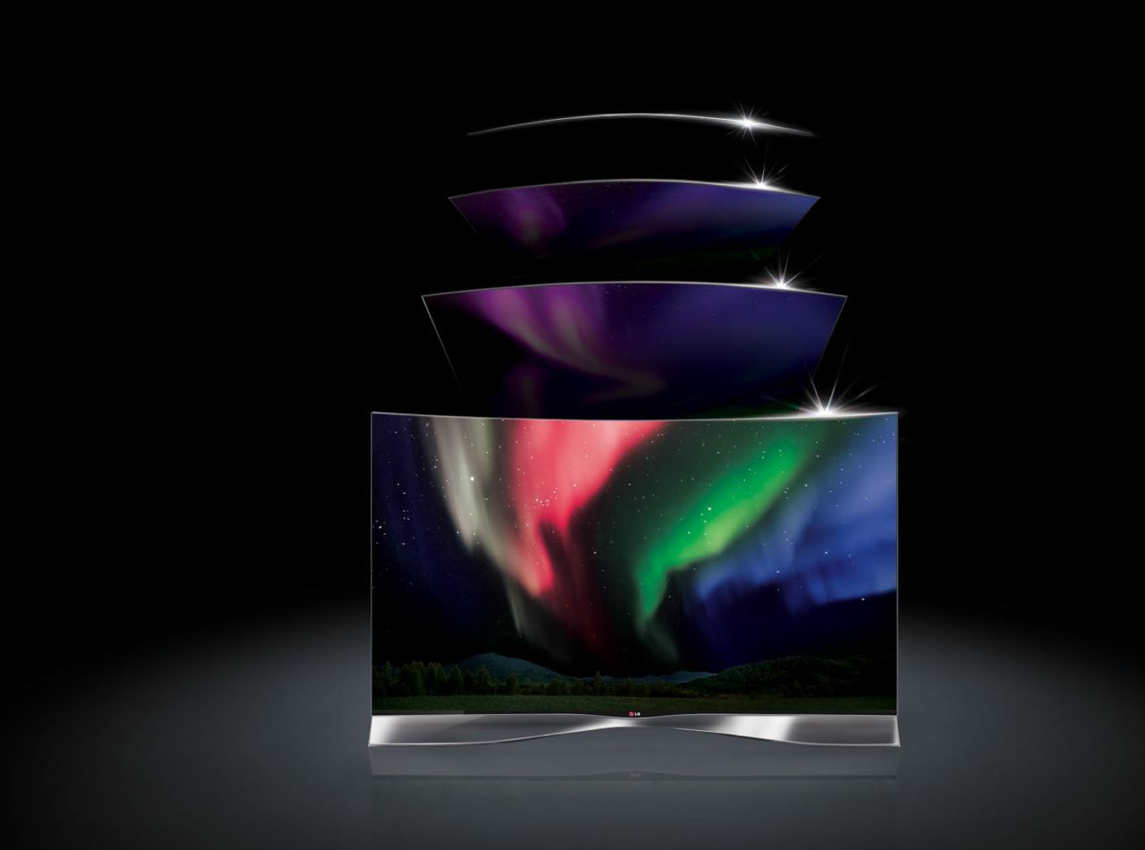 Foto Lg Curved Oled Tv Lg Curved Oled Tv 005 Apparata